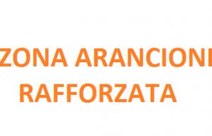 ZONA ARANCIONE RAFFORZATA